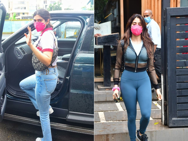 Photo : A Day In The Lives Of Kapoor Sisters - Janhvi And Khushi