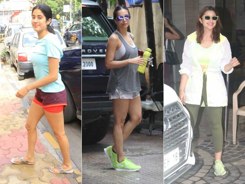 Janhvi, Malaika and Parineeti Won't Miss Gym Day Even If It's A Thursday