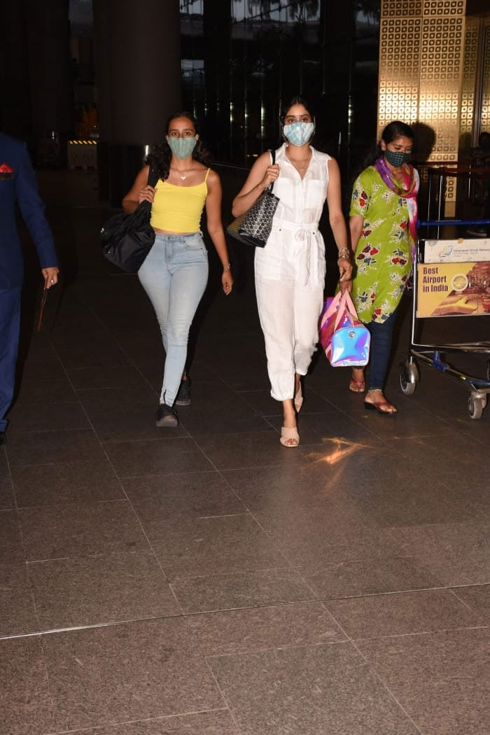 Janhvi Kapoor Is Back In Town