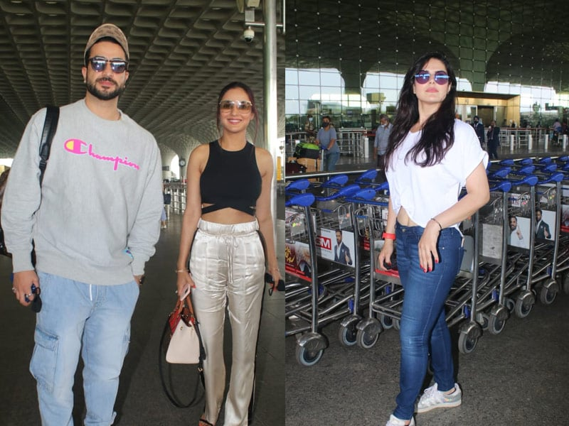 Photo : Star Studded Airport With Jasmin Bhasin, Aly Goni And Zareen Khan