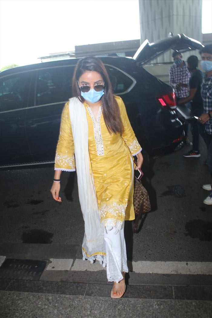Jasmin, Nikki And Shama\'s Airport Looks Are Steal-Worthy