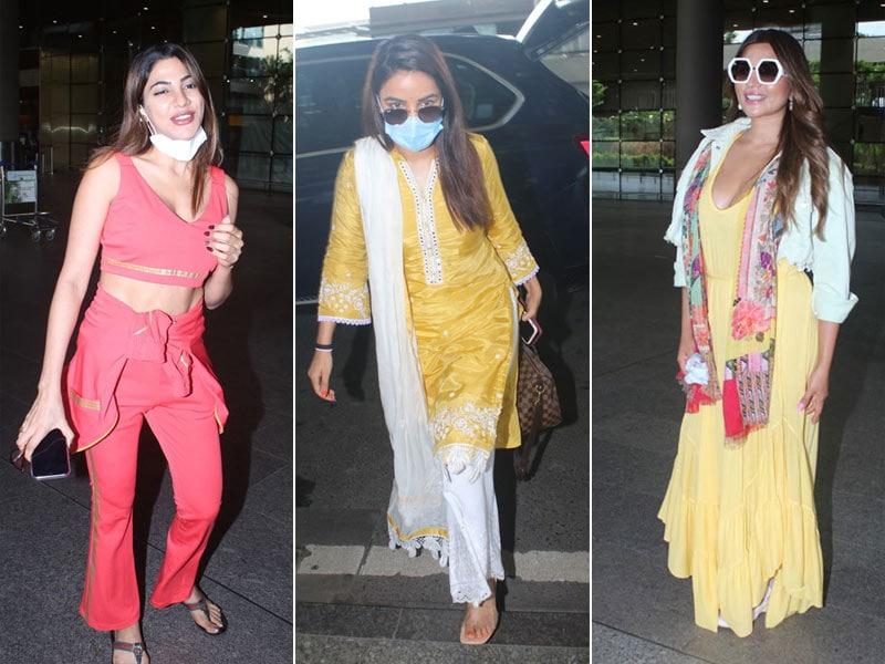 Photo : Jasmin, Nikki And Shama's Airport Looks Are Steal-Worthy