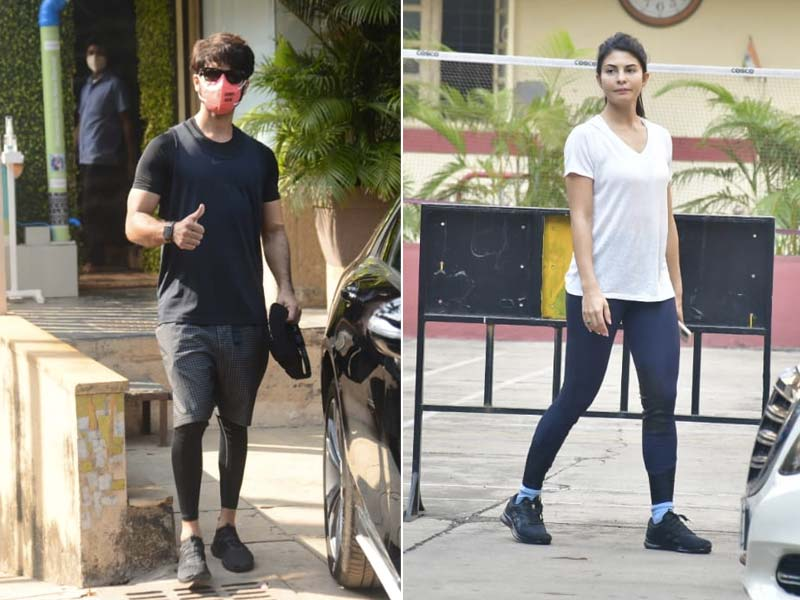 It's Gym O'Clock For Jacqueline Fernandez, Ananya Panday And Shahid Kapoor