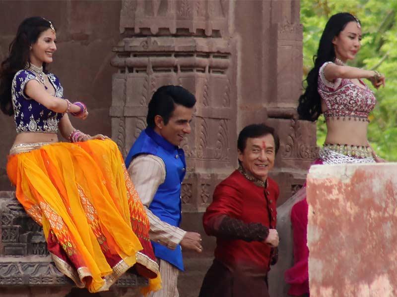 When Farah Khan, Jackie Chan Dazzled Jodhpur With Their Kung Fu Yoga