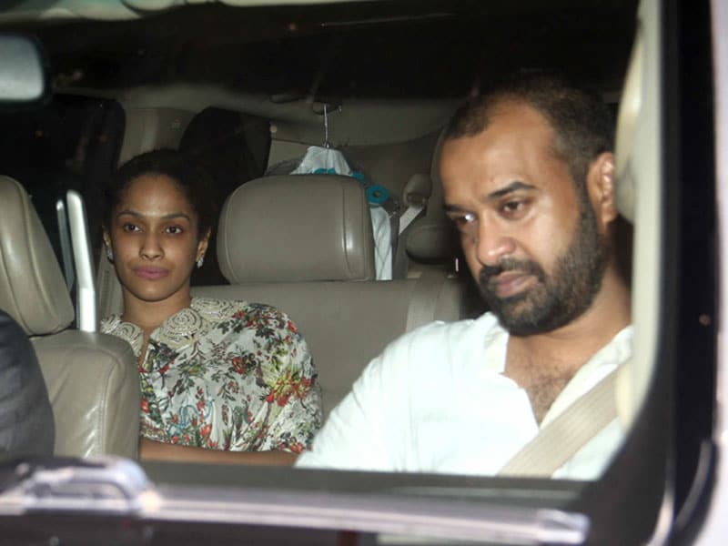 Photo : Just Married Masaba and Madhu Party With Alia, Shahid