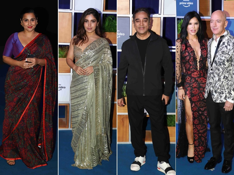 Kamal Haasan, Vidya Balan, Bhumi Pednekar And Others Give Jeff Bezos A Filmy Welcome