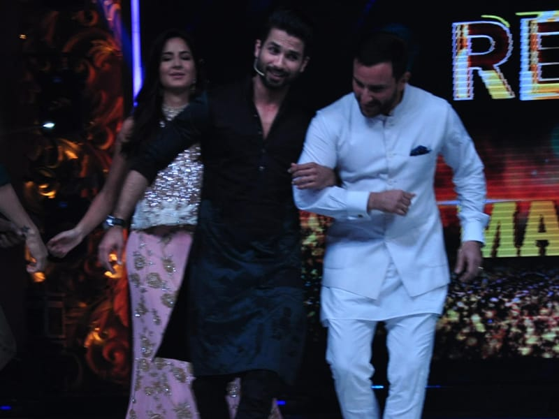 Jab They Danced: Shahid, Saif and Katrina on Jhalak