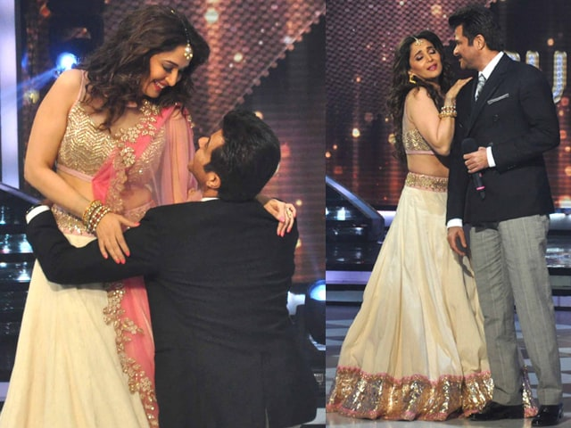 A Jhalak of Madhuri, Anil's Dhak Dhak Magic