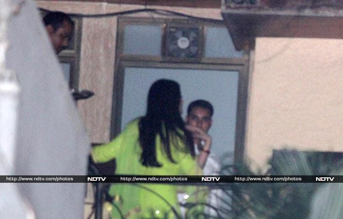 A glimpse of the Bachchans\' Karva Chauth