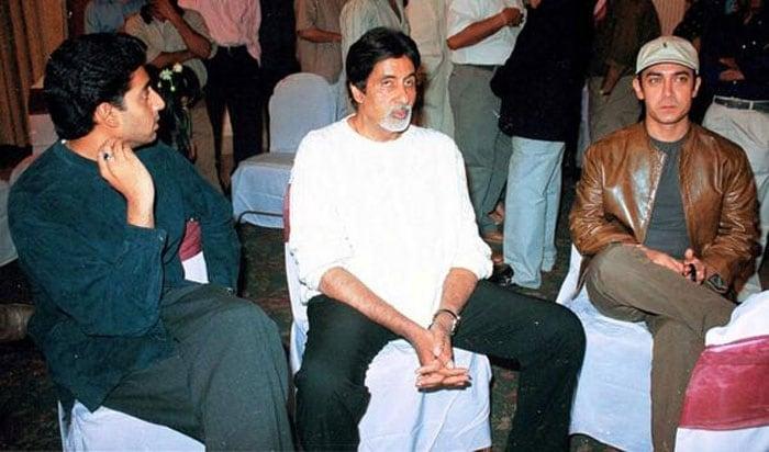 All quiet: Aamir, Big B, Abhishek