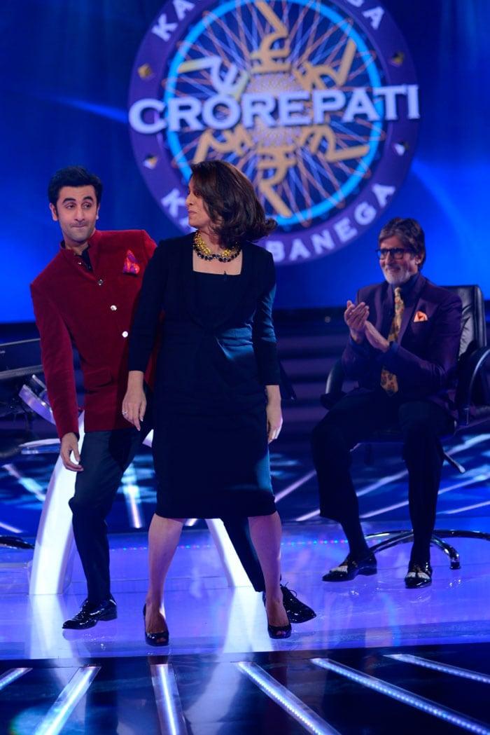 Ranbir saves a dance for mommy