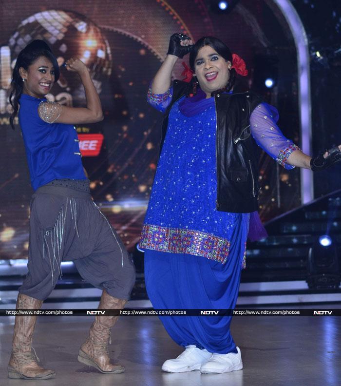 Battleground Jhalak: Madhuri, Sophie, Mouni