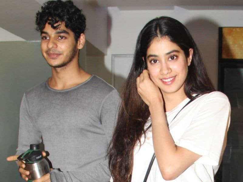 Jhanvi And Ishaan Look Super Happy At Their Movie Date