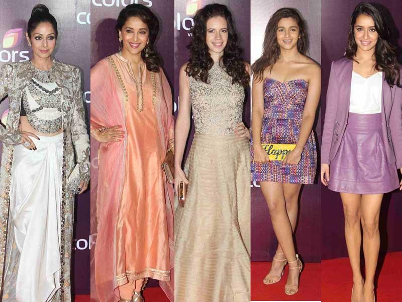 A Starry Night With Sridevi, Madhuri, Kalki, Alia, Shraddha