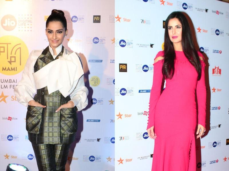 Photo : All Eyes On Sonam Kapoor And Katrina Kaif At MAMI Film Fest