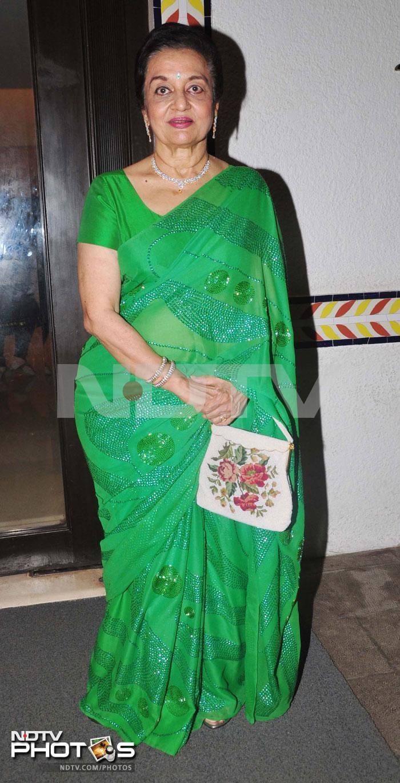 Still lovely: Asha Parekh, Vidya Sinha