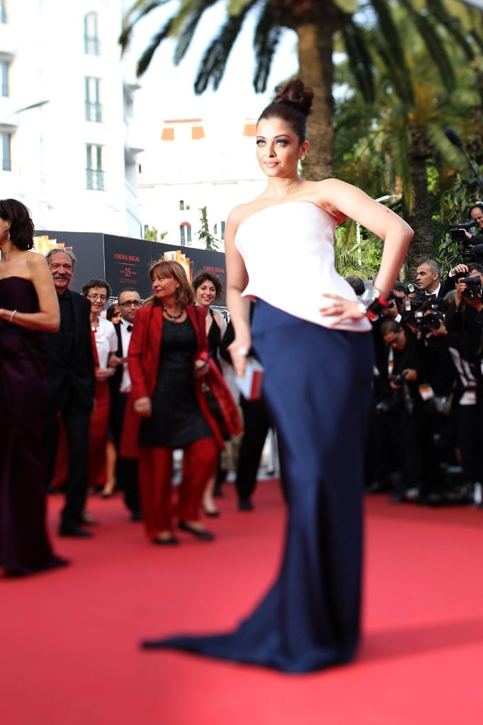 Ash walks the red carpet on Day 2