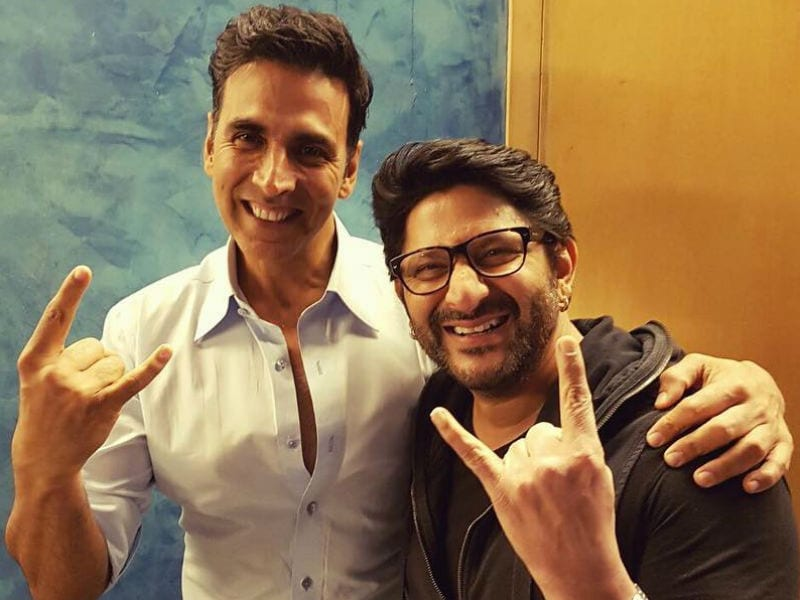 Jolly Vs Jolly: Akshay Kumar And Arshad Warsi's Movie Night