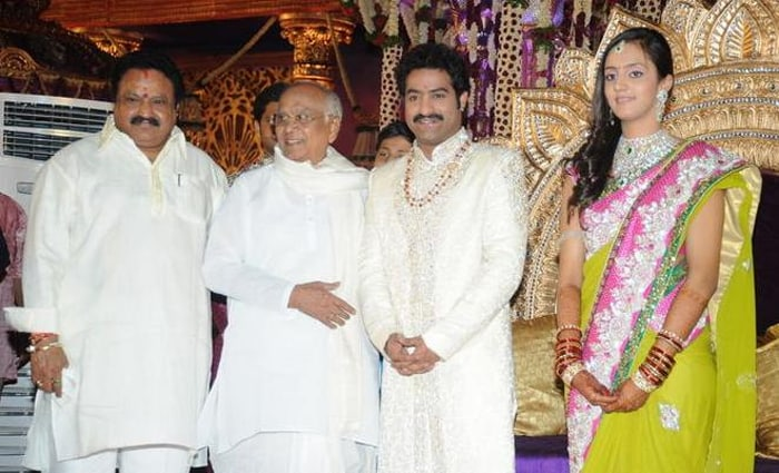 A-listers at Jr. NTR\'s wedding