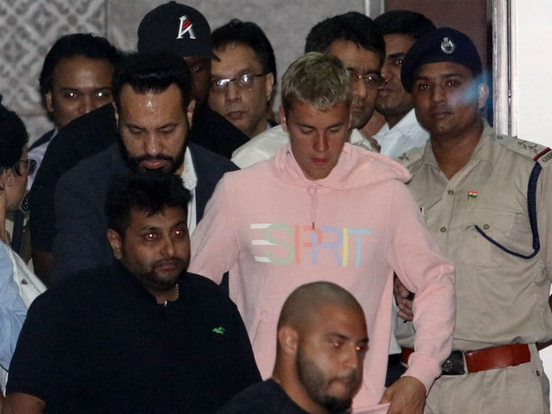 Justin Bieber Is In India. Beliebers, Rejoice
