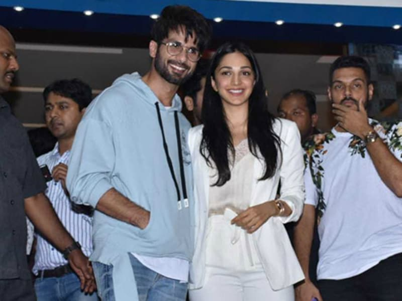Shahid Kapoor And Kiara Advani Host Kabir Singh Screening For Family And Friends