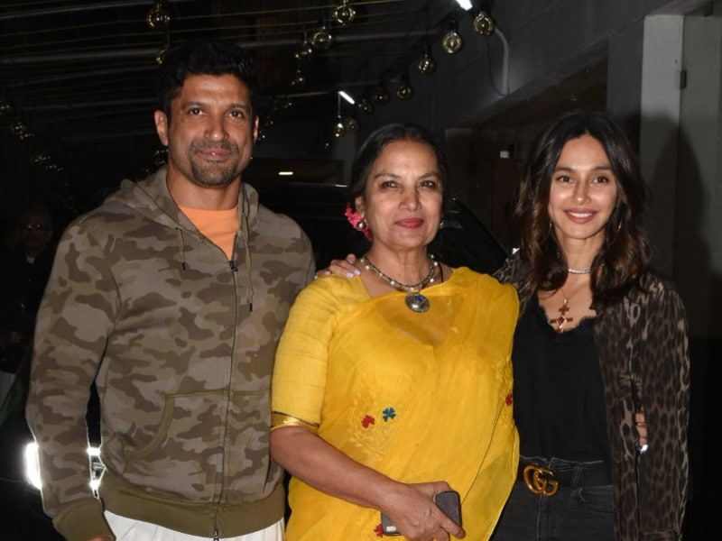 Farhan, Shibani, Aamir, Vidya And Others At Kaifi Azmi's Birth Centenary