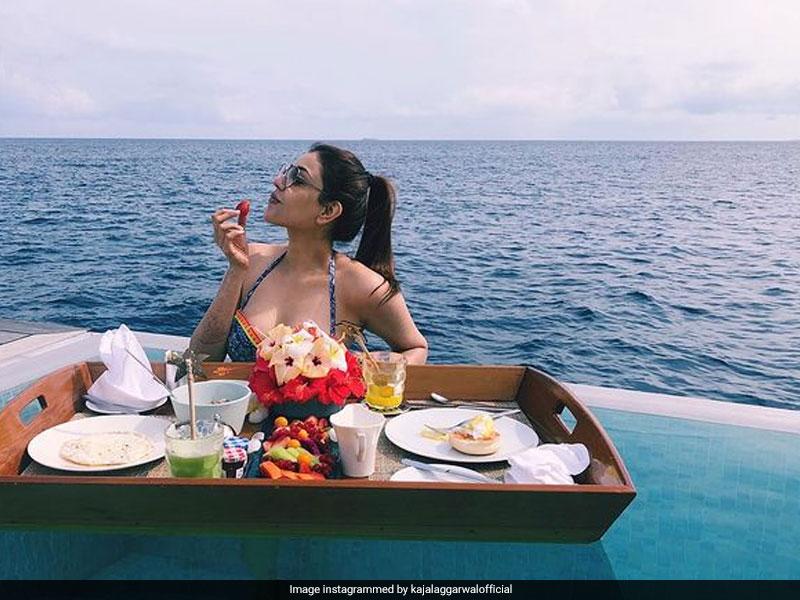 Blue Is The Warmest Colour In Kajal Aggarwal's Honeymoon Album