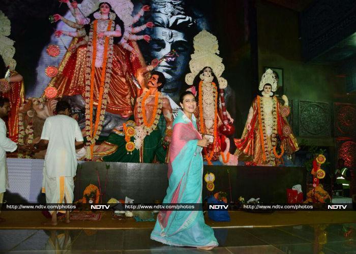 Kajol Begins Durga Puja Celebrations