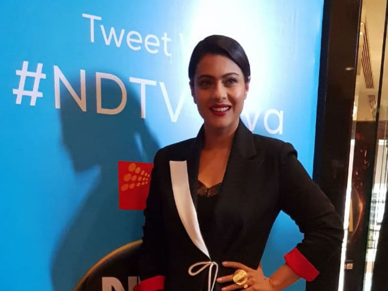 Photo : 'NDTV युवा' में काजोल ने जीता दिल, की कामकाजी मांओं की चुनौतियों पर बात...