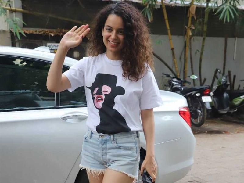 Kangana Ranaut's Smile Brightens Up Mumbai