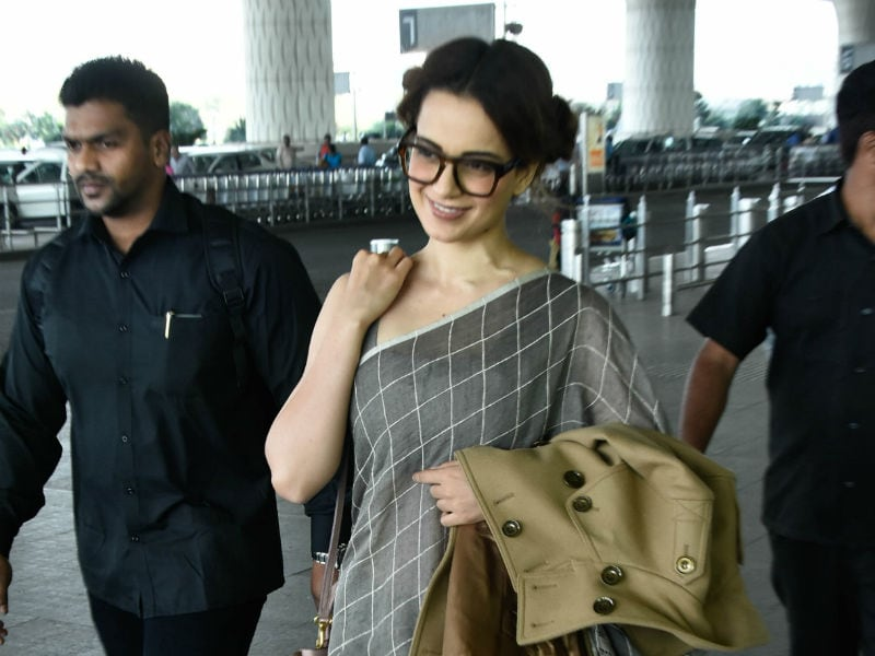 Kangana Ranaut, The Queen Of Airport Fashion