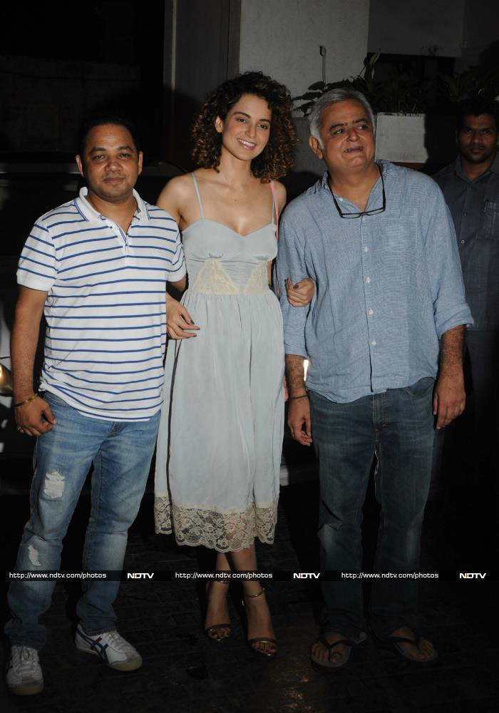 Kangana Ranaut Is Summer Fresh In Chic Blue