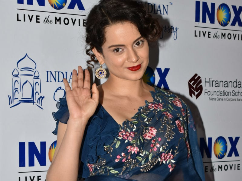 Manikarnika Is Keeping Kangana Busy
