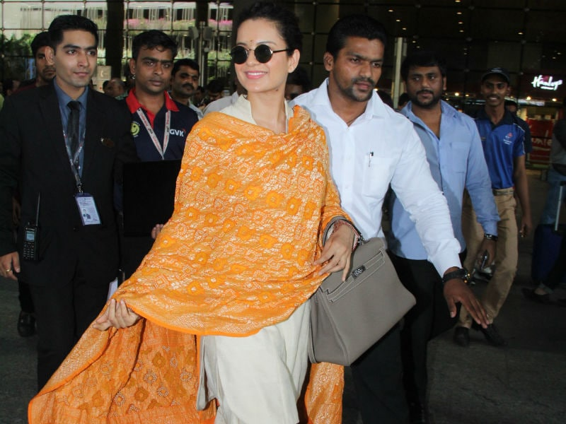 Kangana Ranaut, The Queen Of Airport Style