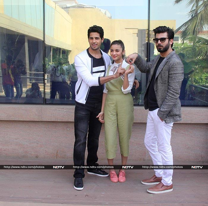 Alia, Fawad, Sidharth\'s Double Dhamaka for Kapoor And Sons