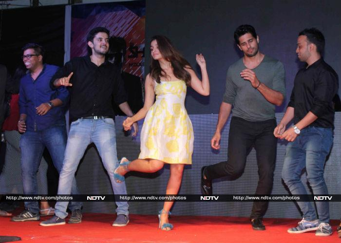 Alia, Sidharth, Fawad Get Busy With Kapoor And Sons