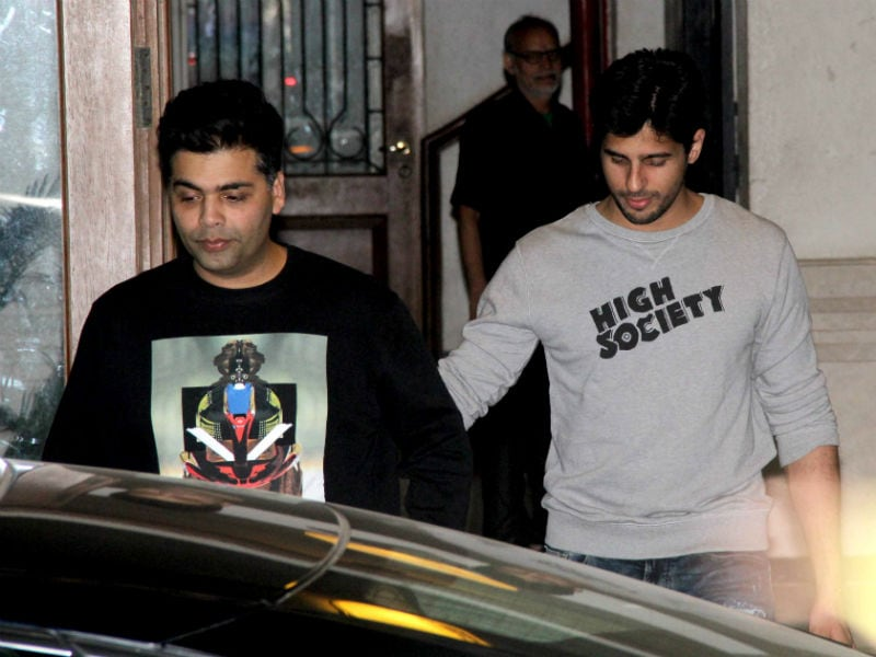 Kapoor And Sons' Day Out With Karan Johar