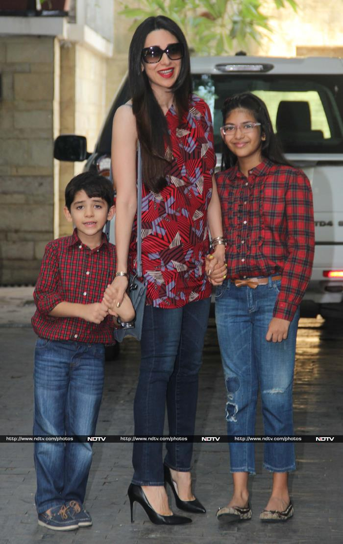 Ranbir, Kareena, Karisma\'s Christmas Fun and Lunch