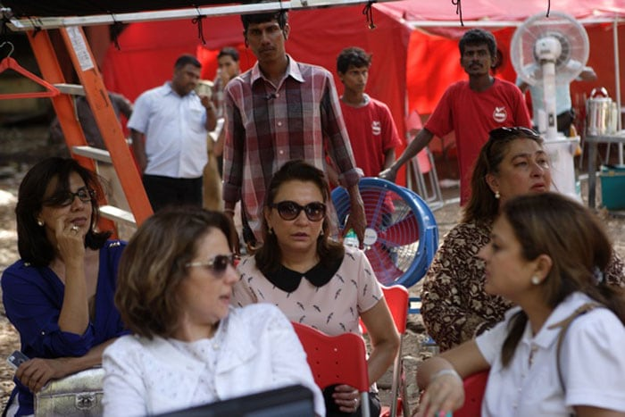 A Kapoor Cheer Squad for Nephew Arman\'s First Day on Set