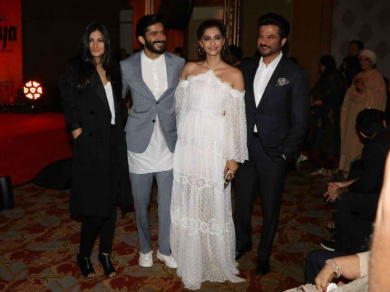 Kapoors Cheer Harshvardhan At Mirzya Music Launch