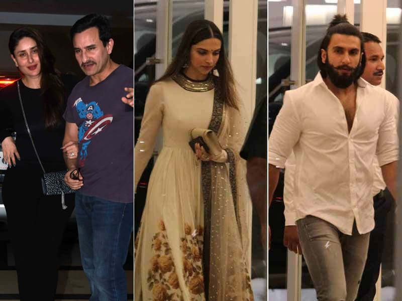 Kareena-Saif, Deepika-Ranveer Party Together At Karan's Bash