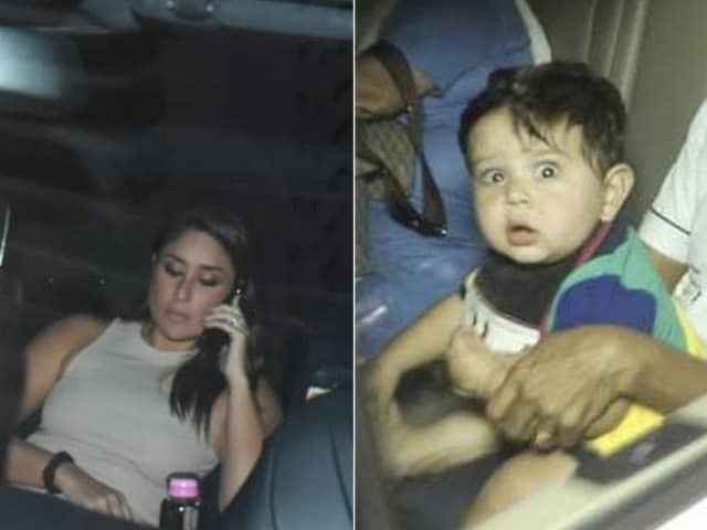 Photo : Kareena Kapoor And Son Jeh's Day Out