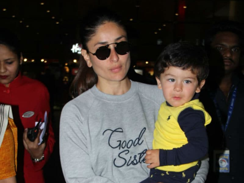 London Done. Kareena And Taimur Are Back In Mumbai