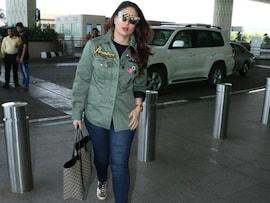 एयरपोर्ट पर दिखा करीना कपूर खान का टशन