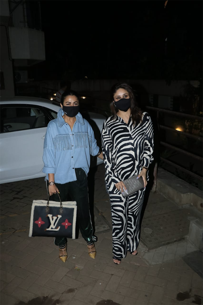 Kareena Kapoor And BFF Amrita Arora\'s Friday Night Was Lit