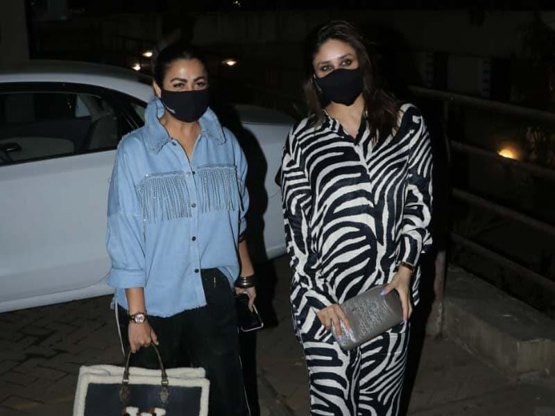 Photo : Kareena Kapoor And BFF Amrita Arora's Friday Night Was Lit