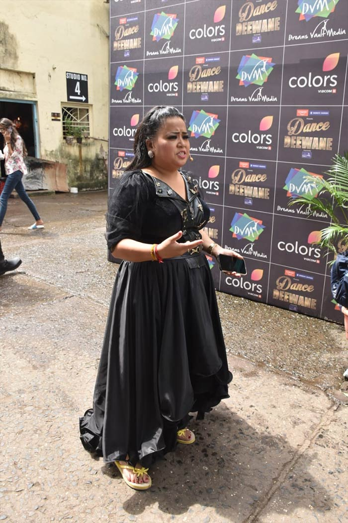 Comedian Bharti Singh was also present with them.