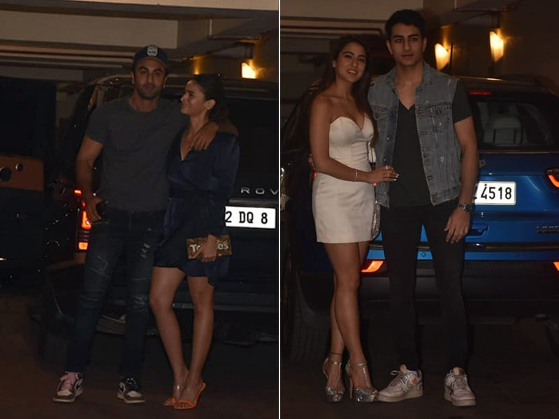 Ranbir, Alia, Sara And Ibrahim Attend Kareena Kapoor's Christmas Party