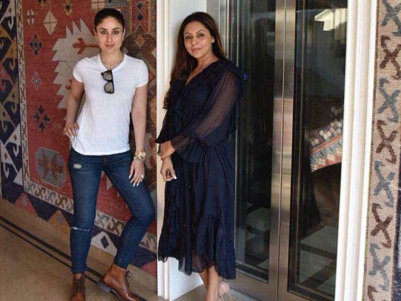 Kareena Kapoor Drops By Gauri Khan's Store