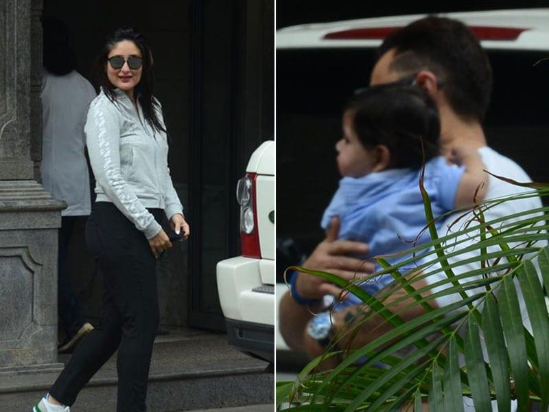 Photo : Kareena And Saif Take Baby Jeh To Lunch At Randhir Kapoor's House